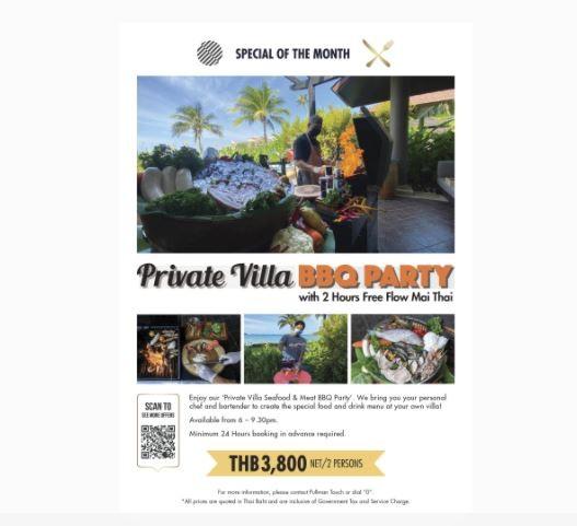 Phuket Private Villa BBQ